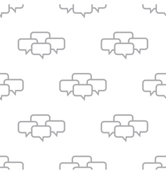 New Dialog seamless pattern vector image