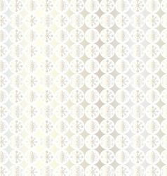 Silver snowflake pattern vector