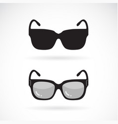 sunglasses design on white background sunglasses vector image