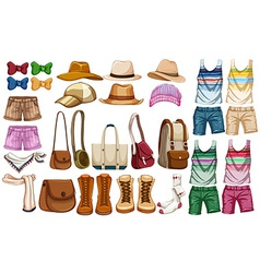 Hipster accessories vector image