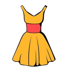 dress icon icon cartoon vector image vector image