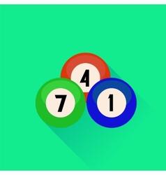 Billiard Balls Icon vector