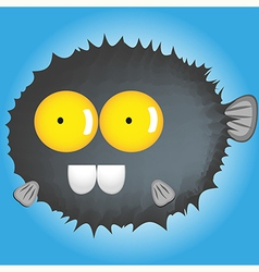 Blowfish cartton vector
