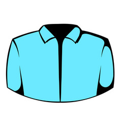 Dress shirt icon icon cartoon vector