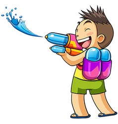 Kids water vector