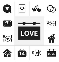 Set of 12 editable amour icons includes symbols vector