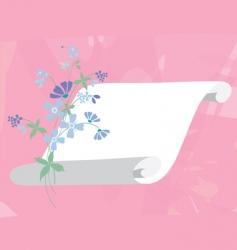 springsummer banner vector image