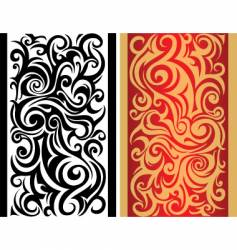 Tribal boarder pattern vector
