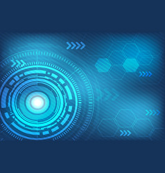 abstract technology digital background vector image