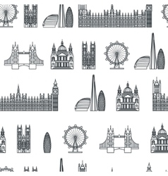 England seamless Pattern 1 vector image vector image
