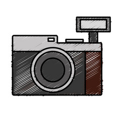 camera icon image vector image