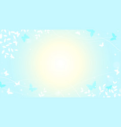 Abstract spring summer background in light pastel vector