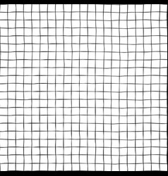 black white grid lines seamless background vector image