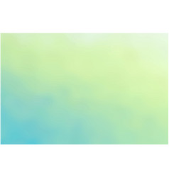 delicate turquoise light green background vector image