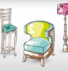 Furnitures vector