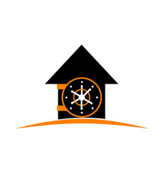 home vault vector image