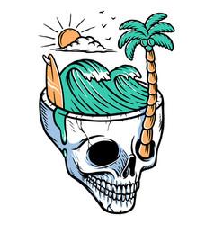 Keep your head cool vector