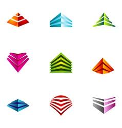 Logo design elements set 64 vector