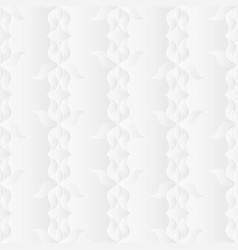 Neutral white iris flower texture vector