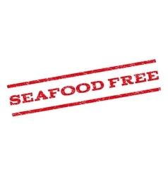 Seafood Free Watermark Stamp vector