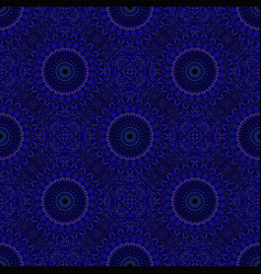 Seamless oriental flower mandala ornament pattern vector
