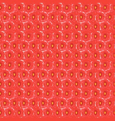 Strawberry seamless pattern vector