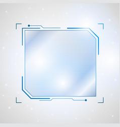 Abstract future futuristic shape virtual graphic vector