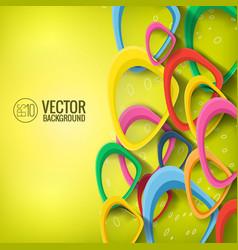Abstract futuristic concept vector