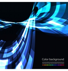 abstract retro technology background vector image