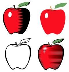 Apple line variant vector