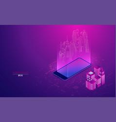 augmentedreality vector image