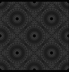 Bohemian geometrical mandala flower pattern vector