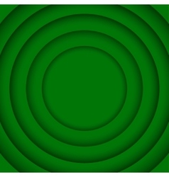 Concentric Green 6 Circle Background vector image