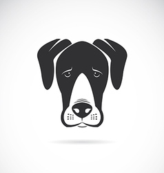 Dog Great Dane vector image
