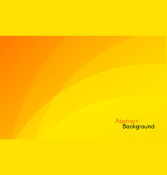 orange background abstract sunny design yellow vector image