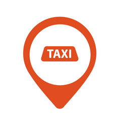Taxi cab logo design car hire badge app vector