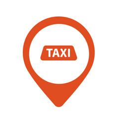 Taxi cab logo design car hire badge app vector
