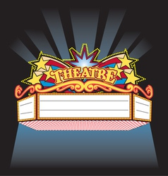 Theatre Marquee vector