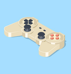 video game gamepad controller vector image