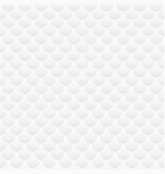 white seamless geometric texture vector image