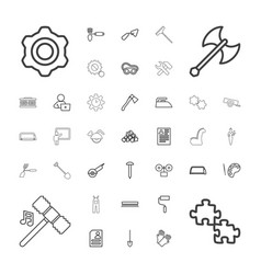 Work icons vector