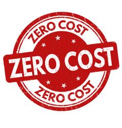 Zero cost grunge rubber stamp vector