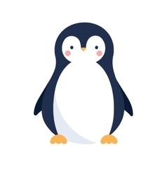 Cute penguin icon vector
