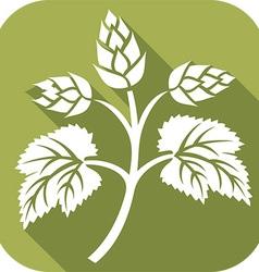 Beer Hop Icon vector image vector image