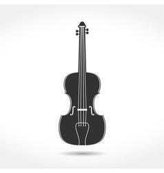 Violin Icon vector image