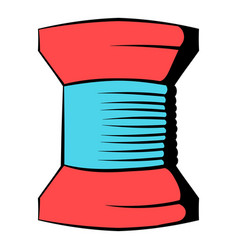 spool of thread icon icon cartoon vector image