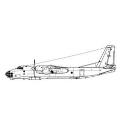 Antonov an-30 clank vector