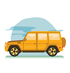 big off road family car vector image