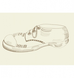 Boot drawing vector