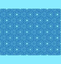 Decorative floral pattern vector